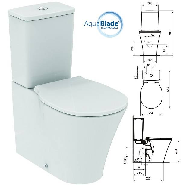 Ideal standard connect air for Ideal standard liuto bidet