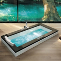 Ванна Jacuzzi Aura Uno wood version 180х90